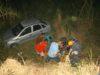 Três feridos em acidente na BR-116 em Orizânia