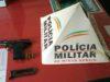 Arma é apreendida em Orizânia