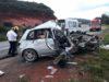 Mulher morre em acidente na BR-262
