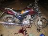 Colisão frontal entre motos mata motociclista de 50 anos; vítimas não eram habilitados